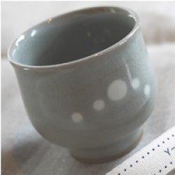 画像2: 高田焼(伝七窯)のかわいいドット柄♪kouda dots 湯飲み
